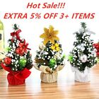 Decorations Home Ornament Xmas Gift Christmas Tree Flowers Desk Table Decor