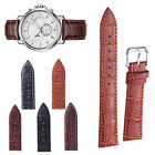 Watch Band Strap 12-24mm Wide Genuine Leather Wristwatch Accessories Unisex 1PC