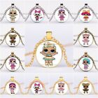 Lol Necklace Surprise Dolls Costume Jewelry Metal Chain Charm Pendant Craft Gift