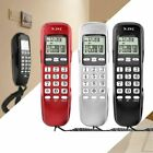 Pro Landline Wall Mount Corded Phone Telephone Home Office Desktop Caller ID