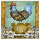 Wake up and Smell the Coffee Poster Art Print, Coffee & Tea Home Decor