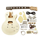 Coban Guitars Right Handed Electric LP Guitar DIY Kits BYO Cream Chrome Fittings