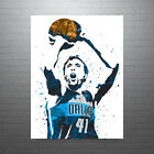 Dirk Nowitzki Dallas Mavericks City Poster FREE US SHIPPING on eBay