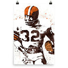 Jim Brown Cleveland Browns Poster FREE US SHIPPING