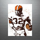 Jim Brown Cleveland Browns Poster FREE US SHIPPING $14.99 USD on eBay