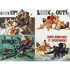 """Thunderball - Vintage Movie Poster"" Wall Decal $34.99 USD on eBay"