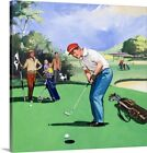 Golf 1968 Canvas Art Print