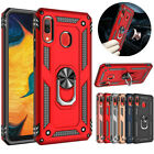 For Samsung Galaxy A10 A20 A50 A10e A70Shockproof Magnetic Ring Stand Case Cover
