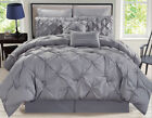 8-Piece-Rochelle-Pinched-Pleat-Comforter-Set image