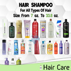 Shampoo All Hair Types Dry Oil Frizzy Damaged Color lot Women/Men 10 To 33.8 oz
