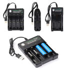 Safest 3.7V 18650 Charger Lithium Ion Battery USB Rechargeable Battery Universal