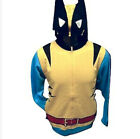 Marvel Comics Wolverine Cosplay Costume Officially Licensed Shirt Top