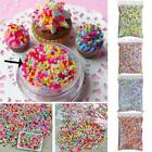100g/Pack Polymer Clay Fake Candy Sweets Sugar Sprinkles DIY Phone Shell Decor image
