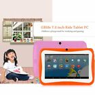 "7"" INCH KIDS ANDROID 4.4 TABLET PC QUAD CORE WIFI HD 15h Standby 8GB FOR GIFT AW"
