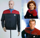 NEW Star Trek Voyager Command Uniform Red Costume Cosplay on eBay