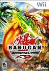 .Wii.' | '.Bakugan Defenders Of The Core.