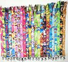 Lot Mickey Minnie Mixed Lanyard For Mobile Phone Id Card Keychain Holder Gifts
