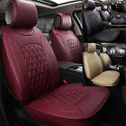 Universal Car Seat Cover Cushion Chair Pad Mat Non-slip Full Set Fits 5-seats YR $98.9 USD on eBay