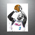 Dwayne Wade Miami Vice Heat Poster FREE US SHIPPING on eBay