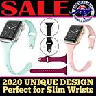 Apple Watch Iwatch Series 6 5 4 3 Silicone Replacement Slim Strap Band 38 40 42