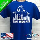 NEW YORK GIANTS SAQUON BARKLEY ***GIANT AMONG MEN*** T-SHIRT $19.95 USD on eBay
