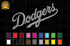Los Angeles Dodgers Baseball Team Logo MLB Vinyl Decal Sticker Car Window Wall on Ebay