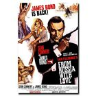 From Russia with Love 24x16 24x36inch 007 James Bond Movie Silk Poster Decals $6.99 USD on eBay