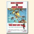 You Only Live Twice 12x18/24x36inch 007 James Bond Movie Silk Poster Hot $9.28 CAD on eBay