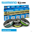 Shimano Kairiki 8 Braided Mainline - Cod Bass Wrasse Pike Lure Sea Fishing Line