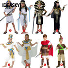 Unisex Kids Halloween Costumes Ancient Egypt Egyptian Pharaoh Cleopatra Outfit