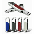 64GB Metal Key Chain USB 2.0 Flash Drive Memory Stick Pen U Disk Thumb 4GB WJ