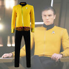 Star Trek: Discovery Christopher Pike Yellow Uniform Cosplay Costume Suit Unifor on eBay