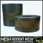 Galvanised Steel Rodent Mesh (17 LPI x 0.5mm Wire Thickness / 1mm Hole) Easy Cut