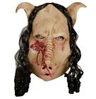 Deluxe Adult Horror Pig Latex Mask Scary Animal Butcher, Chef Halloween Costume