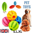 Dental Healthy Treat Clean Toy Chew Pet Dog Puppy Teething Durable Rubber Ball