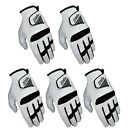 Pack of 5 SG Men golf gloves All weather Cabretta Leather palm patch and thumb