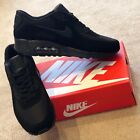 Nike Air Max 90 Black Mens Shoes Trainers UK Sizes 6-11 NEW