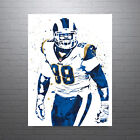 Aaron Donald Los Angeles Rams Poster FREE US SHIPPING $14.99 USD on eBay