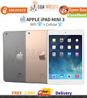 Apple iPad Mini 3 WiFi  Cellular All Colors/Capacity - Very Good Condition
