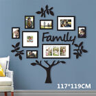 US Family Tree Photo Frame Picture Collage Sticker Wall Mount Xmas Party Decor