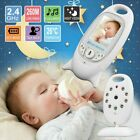 """2"""" in Baby Monitor 2.4GHz LCD Audio Talk Night Vision Wireless Digital Video Cam"""