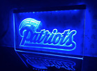 New England Patriots LED Display Light NFL Game Room Tailgate Sign Plaque $21.99 USD on eBay