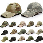 Camouflage Baseball Hat Military Army Tactical Special Forces Airsoft Sun Cap US