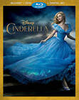 Cinderella (Blu-ray/DVD, 2015, Includes Digital Copy) NEW