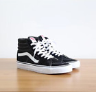 New Vans Sk8-Hi High-top Canvas/Suede Black or Navy Blue Skate Shoes/Sneakers