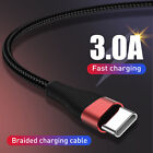 USLION USB Type-C Cable 3A Quick Charge QC 3.0 Fast Charging Cable
