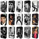 ELVIS PRESLEY THE KING Flip WALLET PHONE CASE COVER SAMSUNG GALAXY S7 S8 S9 S10