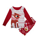 Christmas Pajamas Family Matching Clothes Mom Dad Children Sleepwear Outfit Set
