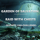 Destiny 2 - Garden of Salvation Full Raid Completion Within 24/48h/Divinity (PC)