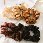 Kyпить Soft Satin Silk Solid Color Hair Tie Elastic Scrunchie Ponytail Holder Hair Rope на еВаy.соm